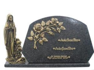 1423 30x40 - Toutes dimensions et granits sur demande, la vierge est en taille unique 30 cm
